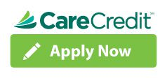 care credit logo green and dark green colors apply now