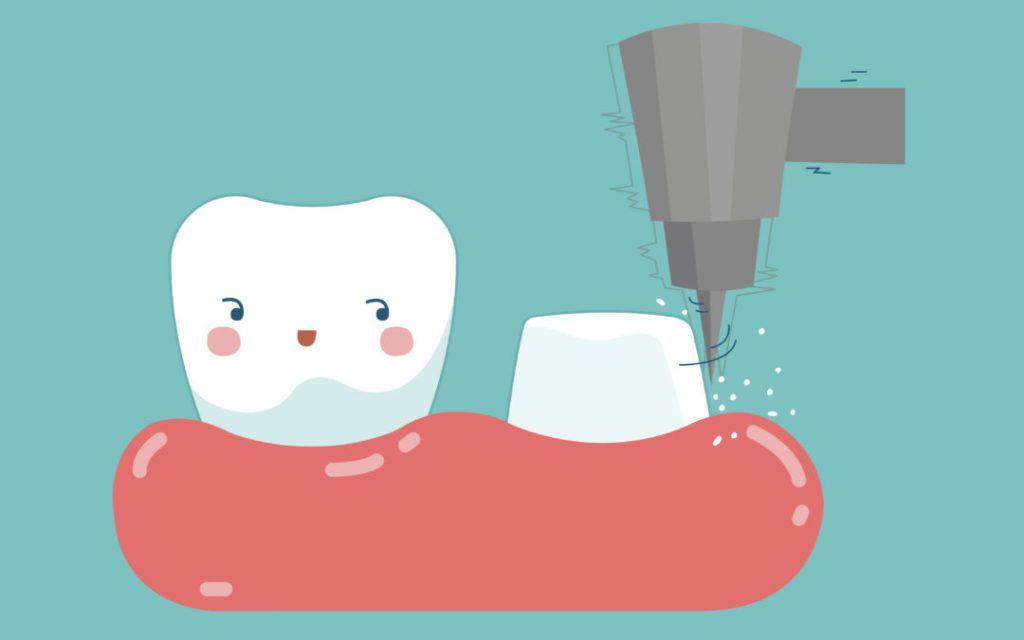 cartoonick Tooth Image
