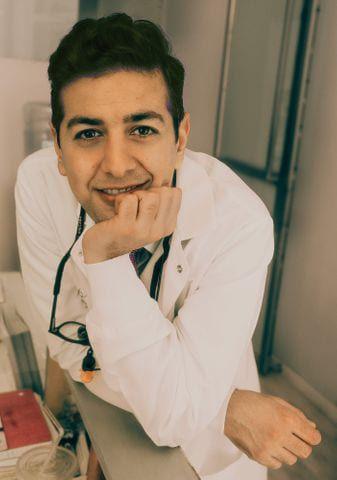Dr. Pasha Smiling