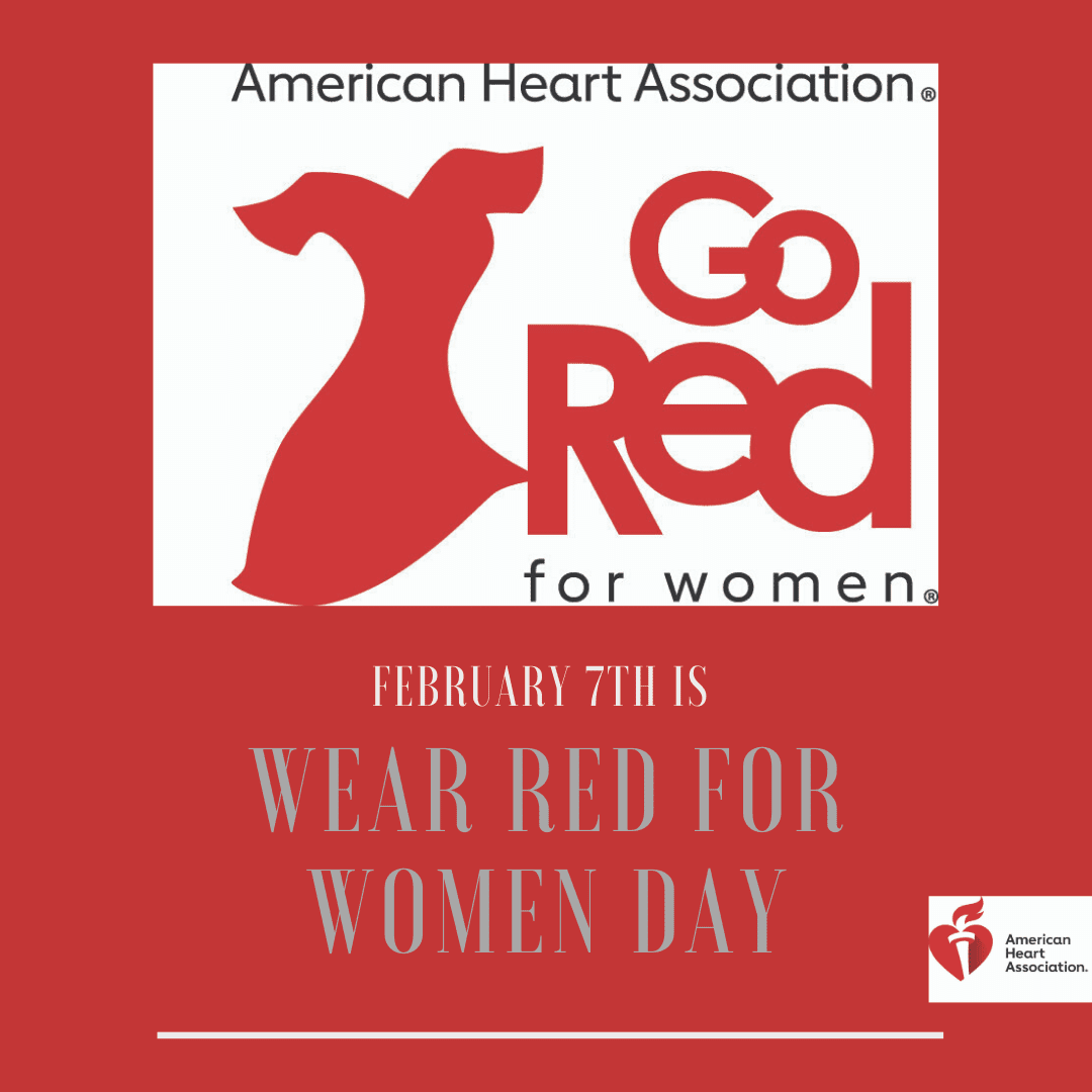 February 7th is Wear Red for Women Day