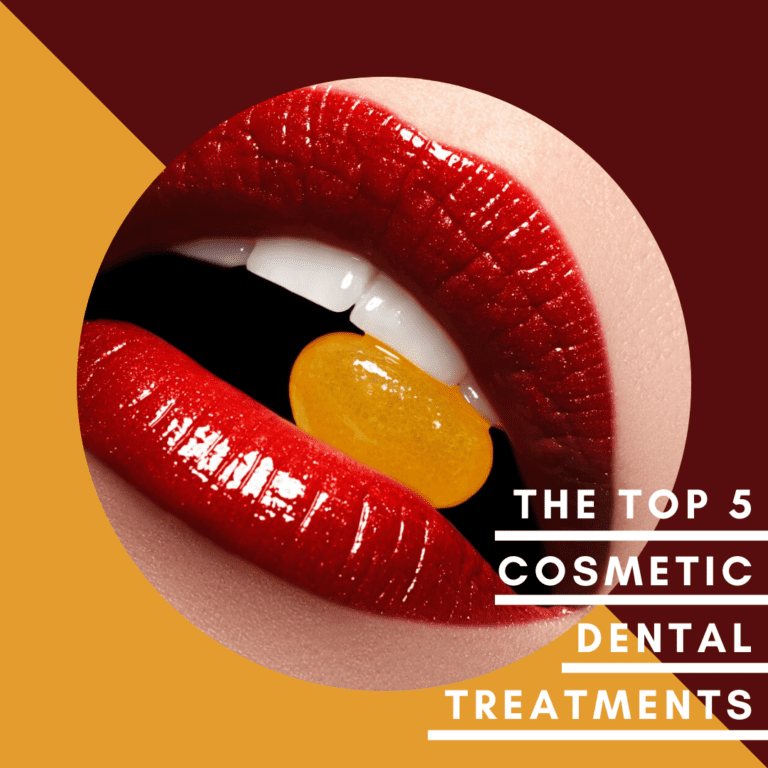 Infographic The Top Five Cosmetic Dental Treatments