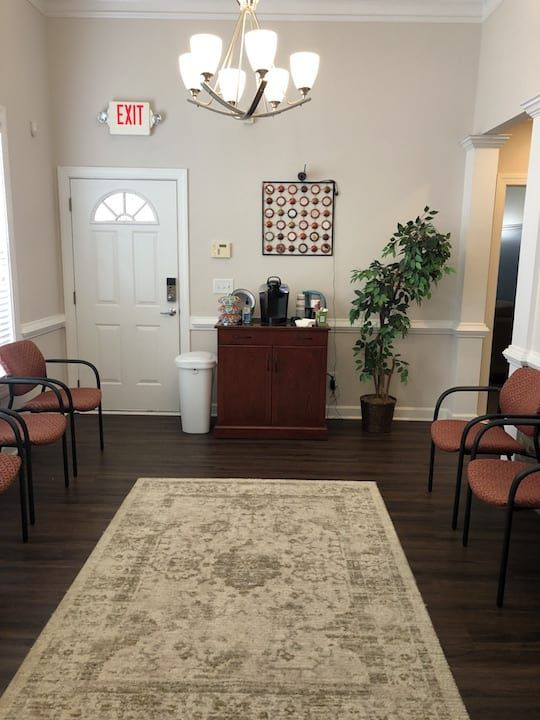 cumming attento counseling office interior