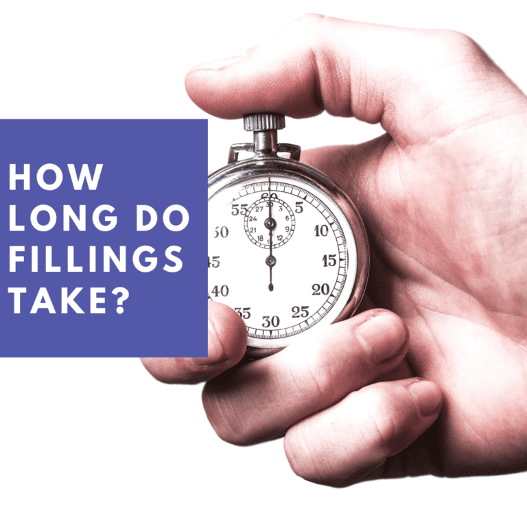 How Long Do fillings Take