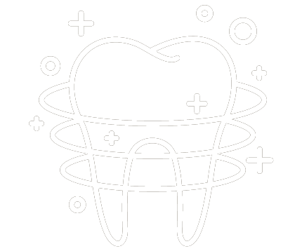 cosmetic cleaning dental icon