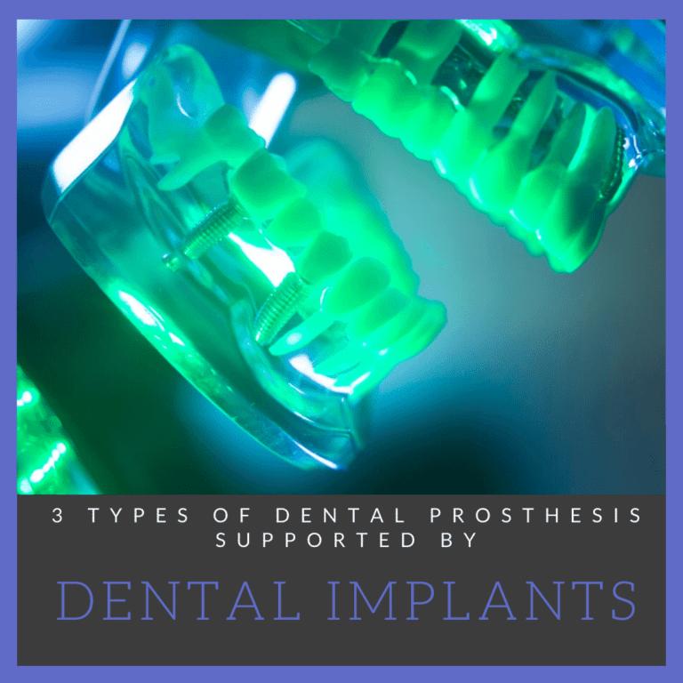 3 Types of Dental Prosthesis