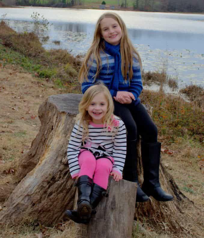 Kayla and Elena (Drs. Covington Daughters)