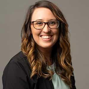 staff member Lauren