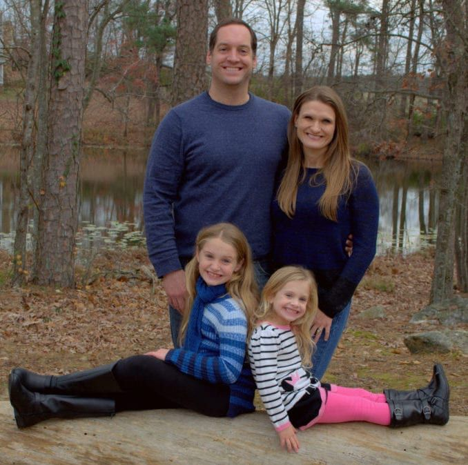 Dr. Mark Covington with family