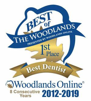 Woodlands Best Dentist Award