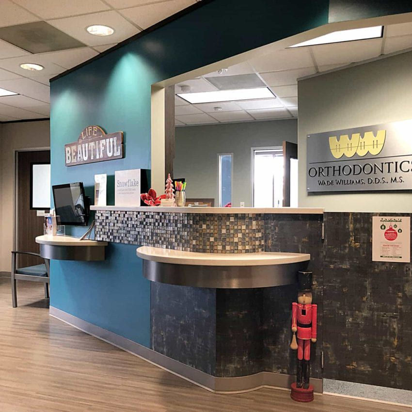 Wade Williams DDS Office front desk
