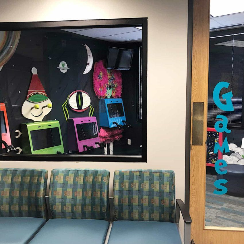 Wade Williams DDS Office Waiting Area